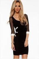 New arrival, High quality! Fashion hollow out mini Dress, Clubbing Dresses, Size M/L, DL21420
