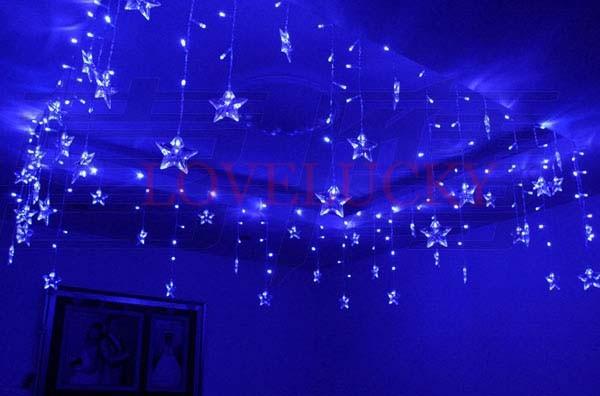 luminarias blau 100 leds 16p perle sterne led string. Black Bedroom Furniture Sets. Home Design Ideas