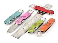 SANRENMU SRM  617 Tanto Blade Aluminium Handle EDC Folding Jewelry Tools for your girlfriends