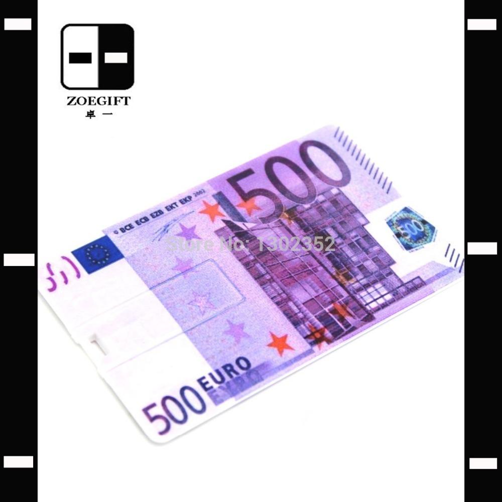 Euro Card Cheap USB Pen Drive,True Memory Card,Personalized Gifts,Drop Shipping(China (Mainland))