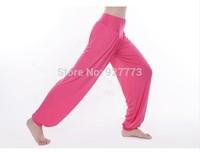 Modal yoga pants solid color fitness good elastic yoga pants plus size m-xxxl