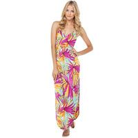 2014 NEW ARRIVAL HOT SALE!Milla Women Summer Hawaii Floral Printed V neck Sleeveless Spaghetti Strap Dress Bohemian Maxi Dress