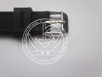 2014 black silicone energy germanium negative ion men bio magnetic bracelet,free shipping