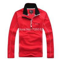 2014 fashion winter men brand anti-static warm outdoors fleece clothing half-zip collar  fast drying sweater Free shipping ny142
