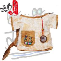 Bolsas femininas 2014 National Wind Vintage Manual Embroidered Ancient Words T-Shirt Casual Canvas Woman Messenger Handbag