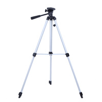 Universal Portable Aluninum 330A Pro Light Stand Tripod for Digital SLR Camera Camcorder Lightweight 53 Inch Three-way Head