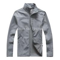 2014 new fashion winter men brand windproof soft shell fleece clothing, outdoor warm jackets, velvet coat Free shipping -65