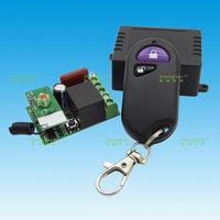 AC 110V 1-way RF wireless remote control switch + Waterproof two-button wireless remote control