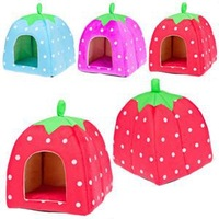 High Quality Cute Strawberry Design Dog Bed House/Fashion Kennel Pens For Dog With Low Price/New Brand Pet Houses
