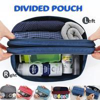 men's travel brand cosmetic bags underwear divided pouch Waterproof makeup bra bag organizer sorting bag women toiletry handbag