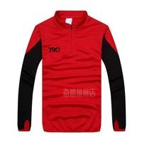 Free shipping High quality brand 100% Men long-sleeve jersey football jerseys training suit  L~XXXXL