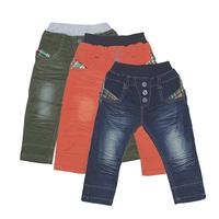 retailsale boys jeans pants,kids stonewashed denim pants child enzyme wash jeans,fit 80-110cm boy 5 size