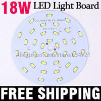 10pcs/Lot 18W 5730 SMD 36pcs LED Light Board Aluminum Base Plate PCB For LED Bulb Spotlight Ceiling Lamps