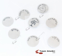 Free Shipping 8 Assorted Plates (10 of each)  for Floating Charms Living Lockets