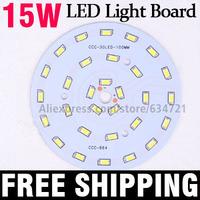 10pcs/Lot 15W 5730 SMD 30pcs LED Light Board Aluminum Base Plate PCB For LED Bulb Spotlight Ceiling Lamps