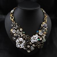 Aliexpress Wholesale 2014 Brand Jewelry Brand Luxury Fashion Perfume Women  Accessories Necklace Statement Choker Necklace
