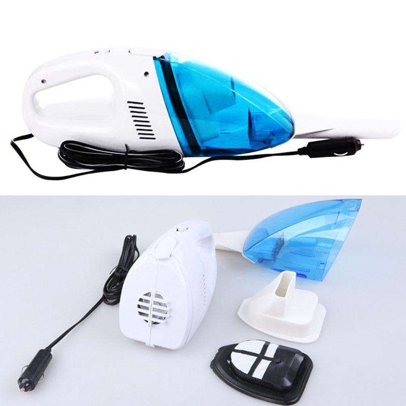 12V Mini Portable Car Vehicle Auto Rechargeable Wet Dry Handheld Vacuum Cleaner # A3003010(China (Mainland))