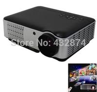 RD-806 Amazing 2800 Lumens 1280 x 800 Mini HD Full LED Home Theater Projector with 2 HDMI 2USB 1500:1 with USB/HDMI/AV/VGA