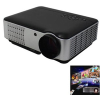 RD-806 Amazing 2800 Lumens 1280 x 800 Mini HD Full LED Projector with 2 HDMI 2USB Perfect 1500:1 with USB/HDMI/AV/VGA