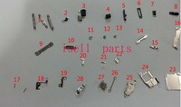 for iphone 5s sim card tray and side set ,volume key ,button key,mute key