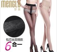 2014 women sexy tights lycra cotton T crotch 12pcs/lot spring summer autumn free shipping U512