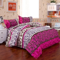 Quality Hot Sale Comfortable Home Bed Bedding Set Floral Duvet Cover Set Bedding Sheet Bedspread Pillowcase Single Double Size