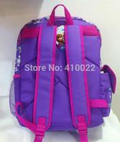 Free shipping Frozen backpack Elsa school bags children bags Anna frozen schoolbags