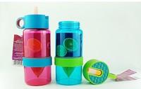 High Quality Children Lemon bottles new fashion lemon drinkware Wholesale  fruit juice children cup child brand water bottle cup