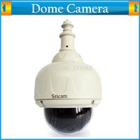 P2P MJPEG Outdoor Waterproof Pan/Tilt Wireless CCTV Security IP Speed Dome Camera CMOS Wifi IR-CUT 15M Night Vision Email Alarm