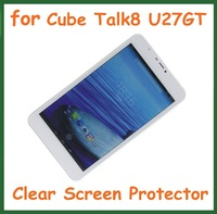 """5pcs Ultra Clear Screen Protector Protective Film for Tablet PC 8"""" Cube Talk8 U27GT Talk 8 Size 211*118.5mm No Retail Package"""