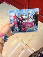 Nishizawa Girl Edge Iron Buckle Violetta Children Watch Cartoon Watches Boxed Set Frozen Watches Descicaple Me Wallets