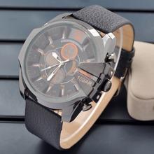 Relogios masculinos 2014 de primeras marcas de lujo DZ reloj atmos, vestido de moda correa de cuero relojes hombres relojes de cuarzo