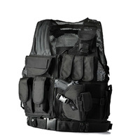 Fishing vest pocket more military enthusiasts vest puncture-proof ma3 jia3 male outdoor field CS uniform tactical vest