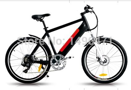E-MAX 26inch electric mountain bike, Pedaling assistant system mountain Ebike, 7 speed electric mountain bicycle(China (Mainland))