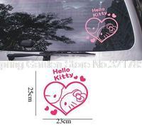 Hello Kitty Happy Cute Cartoon Car Stickers Wall Decorative Stickers Free Stickers