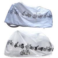 1pcs Dustproof Waterproof Bicycle Bike Cover Protecting Motor Durable Bike Rain Cover 210x100cm Easy to Use