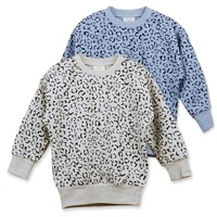 High Quality Boys And Girl Sweater Coat Sport Boy Girls Clothes Children's  Girl's Leopard Print Outerwear Clothing Fleece W3052