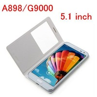 Top Quality Original Black/White Select PU Leather Case For Smart Phone Star 5.1 inch MTK 6592 A898/G9000 Leather Bags