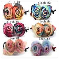10pcs/lot HA0505 Designers Flower Hair Clips Girls Headwear Barrettes/Fascinator/HairGrip for Women Hair Accessories