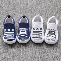 Super quality autumn 1pair Brand Children Canvas Shoes, Antislip Kid/baby cartoon sport Sneaker, Breathable Girl/Boy soft Shoes