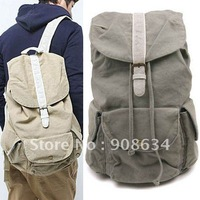 Fashionable Design Brand New Canvas Travel Backpack Shoulders Bag for Men
