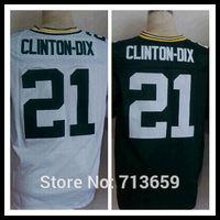 Green Bay  #21 Ha Ha Clinton-Dix Men's Elite jersey,American football Jerseys,Embroidery Logo,Free Shipping,Accept Mix Order