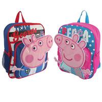 Bebe Infantil Baby Girls Boys Kids Children Student School Bag Bags Backpacks Knapsack Mochila Bolsas Satchels Peppa George Pig