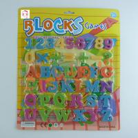 42pcs English letters Colorful Fun Fridge magnets Plastic toys kids education toys Magnetic toys free shipping