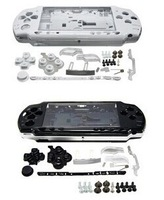 New Faceplate Shell Case Cover for Sony PSP 2000  A full set of accessories 5pcs