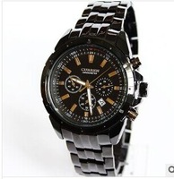 free shipping CURREN business men calendar waterproof steel male  with wholesale watches