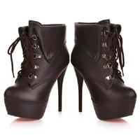 ankle boots plus size women platform boot botas femininas 2014 cano curto sapatos femininos de salto coturnos femininas booties