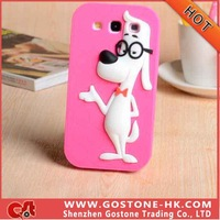 Free Shipping Lovely Cartoon Design For iphone 4 Cell Phone Case Silicon Protective Case