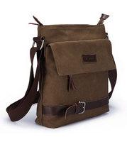 Free Shipping Fashion Canvas Men Bag Shoulder Casual Sling Belt Tote Business Briefcase Handbag