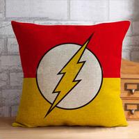 892  Big Discount Captain America&Iron Man&Batman&superman American Style car sofa home bedding cushion cover pillow case